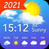 天氣預報和小工具和雷達 圖標