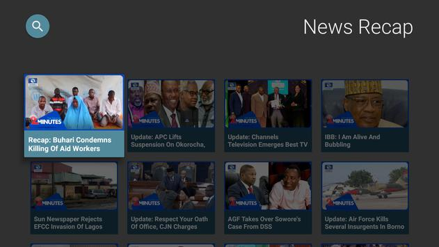 Channels TV screenshot 1
