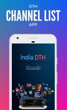 3 Schermata Channel List for Tata Sky India DTH