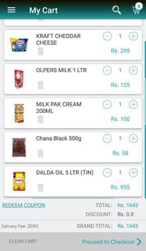 Chaarsu.pk - Grocery Delivery in 60 mins screenshot 2