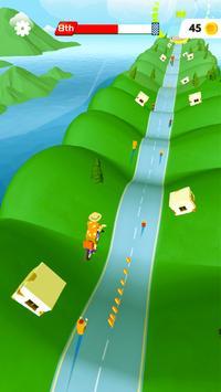 Poster Bikes Hill
