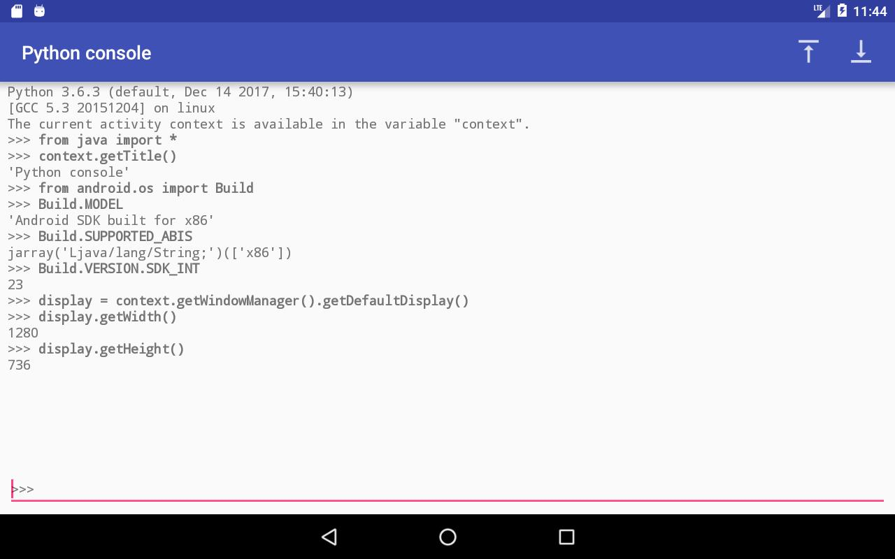 Chaquopy: Python 3 for Android for Android - APK Download