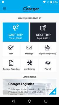 Charger Logistics Driver App poster