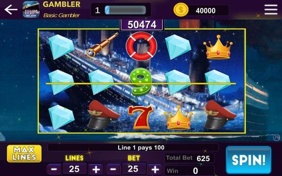 Titanic Mystery Slot - Casino Treasure screenshot 1
