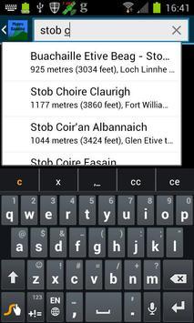 Munro Bagging screenshot 1