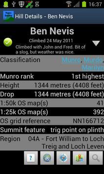 Munro Bagging screenshot 2