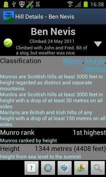 Munro Bagging screenshot 3
