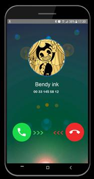 Fake call video and Chat from Bendy screenshot 3