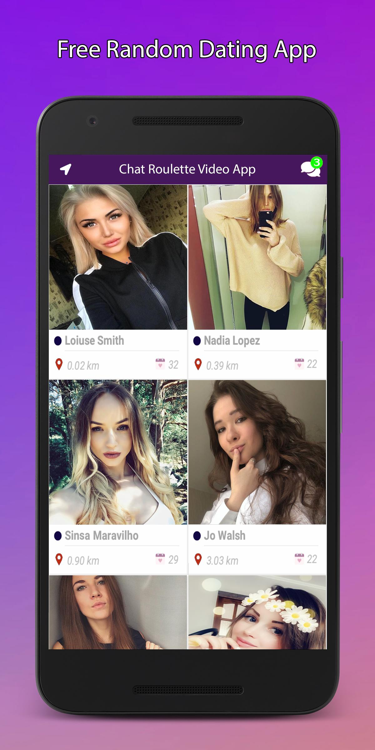 chatroulette dating app)