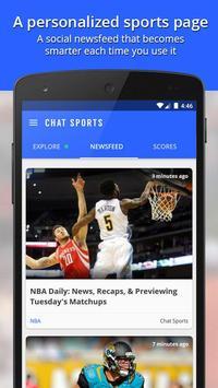Chat Sports Cartaz