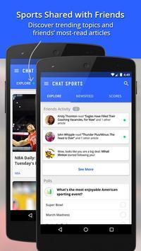 Chat Sports imagem de tela 4