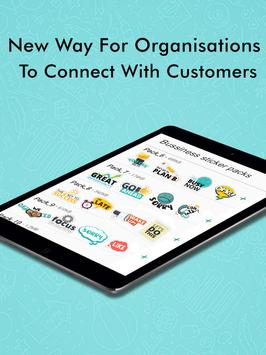 Business Chats Stickers - WAStickerApps screenshot 10
