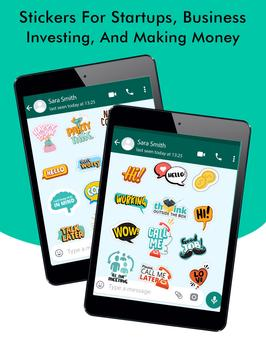 Business Chats Stickers - WAStickerApps screenshot 11