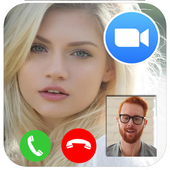 Video call chat - live video chat with strangers icon