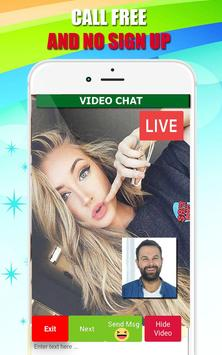 Video call chat - live video chat with strangers poster