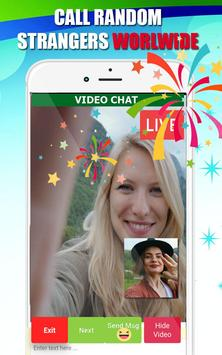 Video call chat - live video chat with strangers screenshot 1
