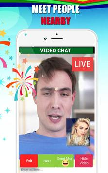 Video call chat - live video chat with strangers screenshot 2