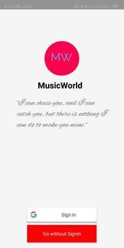 MusicWorld poster