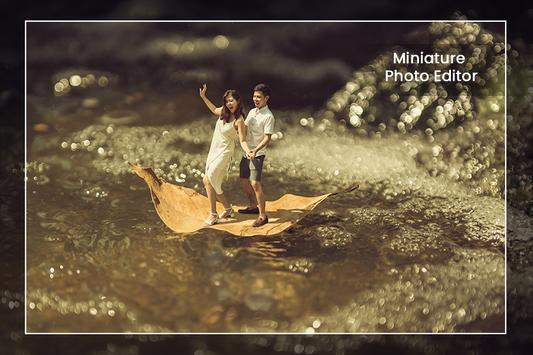 Miniature Photography - Background Changer poster