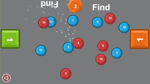 Two man game: Number drag screenshot 4