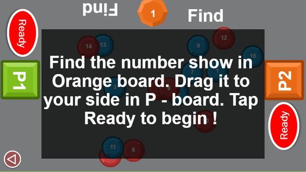 Two man game: Number drag screenshot 9