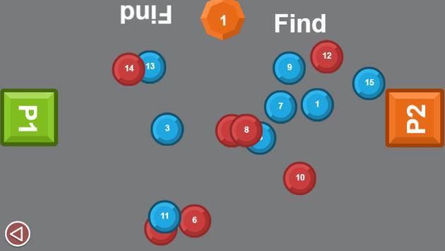 Two man game: Number drag screenshot 2