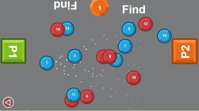 Two man game: Number drag screenshot 3