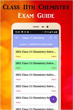 Class 11 Chemistry poster