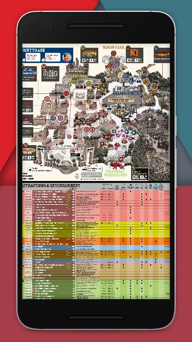 Universal Studio Japan Park Map 2019 for Android - APK Download