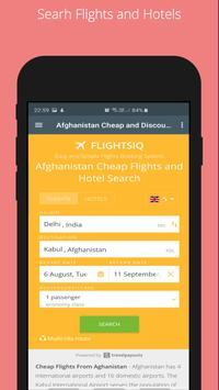 Cheap and Discount Flights Afghanistan - FlightsIQ screenshot 1