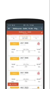 Cheap Flights Australia to India - FlightsIQ screenshot 2