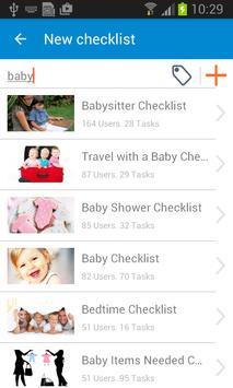 Checklist screenshot 4