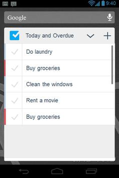 Checklist screenshot 6