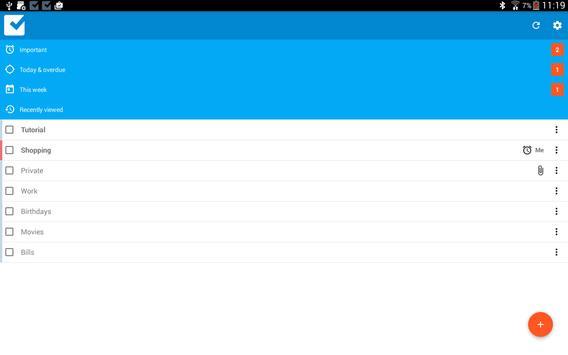 Checklist screenshot 8