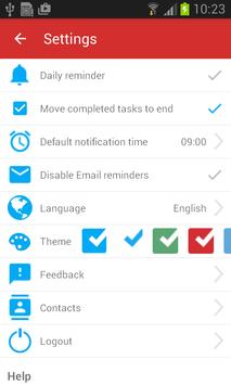 Checklist screenshot 3