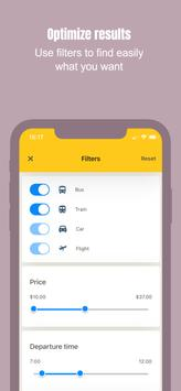 CheckMyBus: Compare and find cheap bus tickets screenshot 3