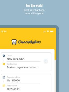 CheckMyBus: Compare and find cheap bus tickets screenshot 6