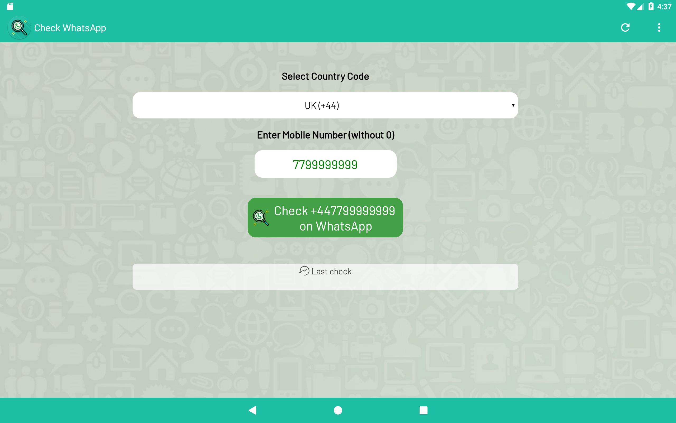 Check Number WA (for WhatsApp) for Android - APK Download