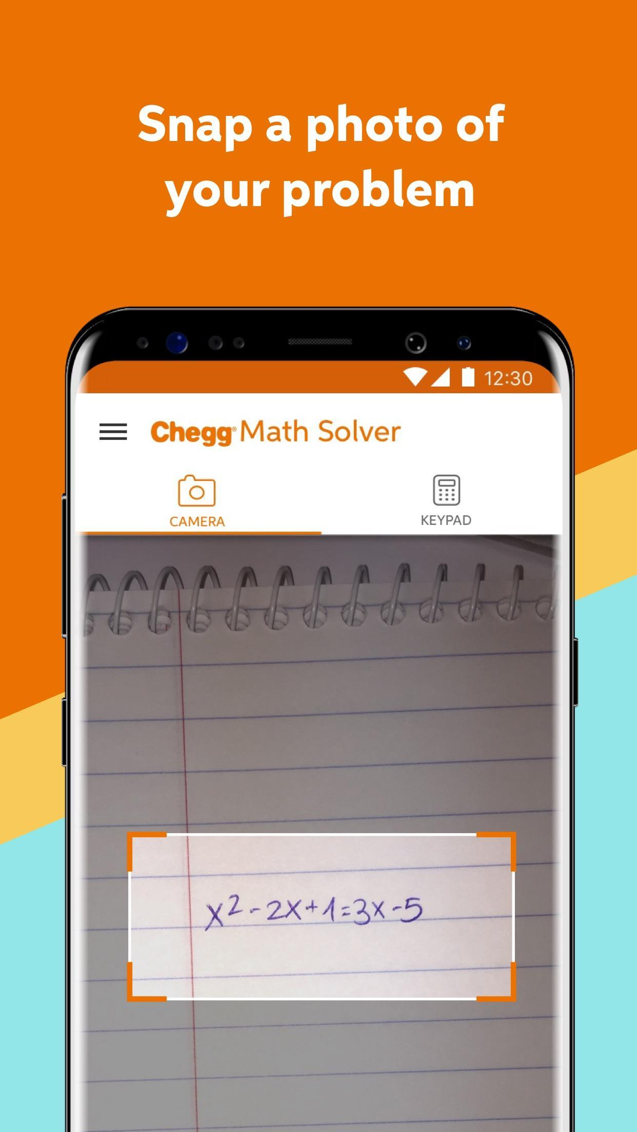 Chegg Math Solver for Android - APK Download