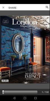 London Magazine, London's Property Magazine poster