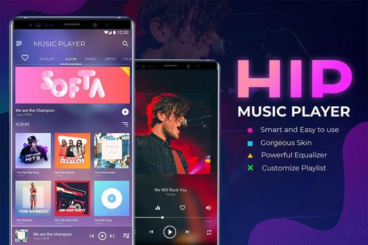 HIP Music Player: Free Mp3 Player - Audio Beats poster