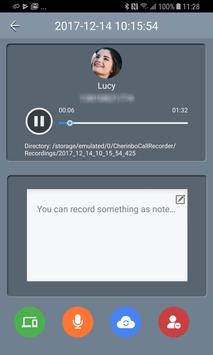 Automatic Call Recorder: Cherinbo ACR screenshot 6