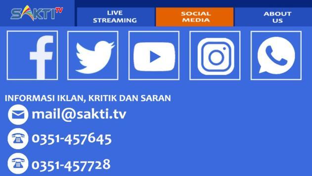 Sakti TV Streaming screenshot 2