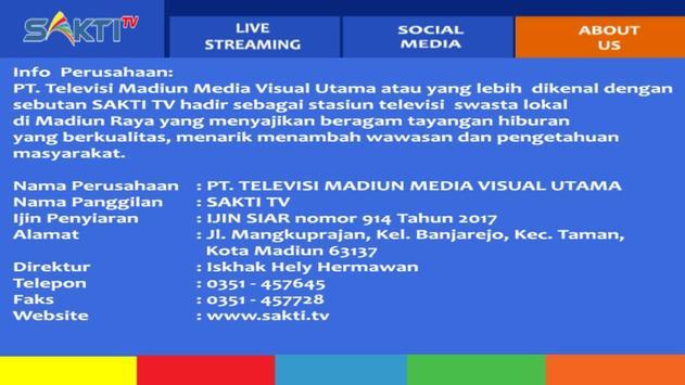 Sakti TV Streaming screenshot 3
