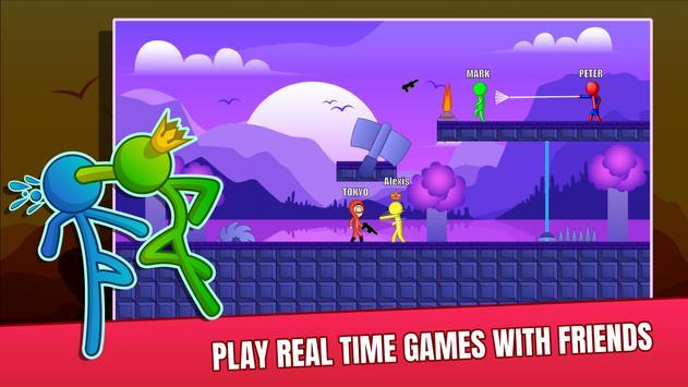 Stick Fight Online: Multiplayer Stickman Battle screenshot 7