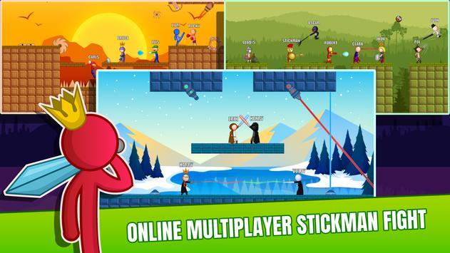 Stick Fight Online: Multiplayer Stickman Battle screenshot 6