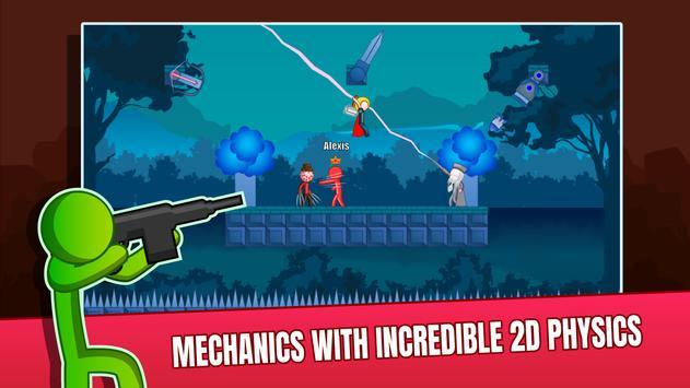 Stick Fight Online: Multiplayer Stickman Battle screenshot 11