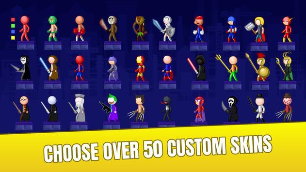 Stick Fight Online: Multiplayer Stickman Battle screenshot 14