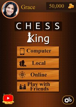 Chess King™ - Multiplayer Chess, Free Chess Game poster