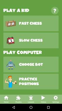 Chess for Kids - Play & Learn screenshot 1